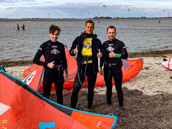Kiteschule Fehmarn Gold Kiteboarding Kitesurfen Ostsee Kurse