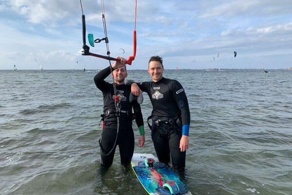 Aufsteiger Kitesurfkurs Fehmarn