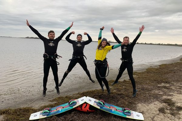 Ostsee Kitesurfschule freie Plätze Wochenende Kurs