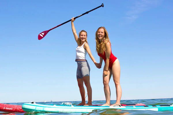 SUP Stand Up Paddling Mieten auf Fehmarn Wing Foil